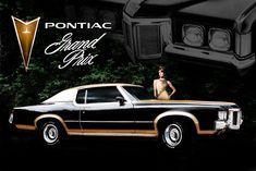 70's pontiac ad | 1969 Pontiac Grand Prix SJ period ad 2 with model by Domestrialization ...