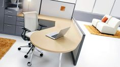 """Avenir by Steelcase  Can work freestanding, panel-supported, or a combination of both.  Built on a 6"""" planning module.  Indoor Air Quality Certified.  Compliance with USGBC LEED EQ4.5 (furniture and seating).  Large selection of surface material options."""