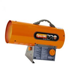 The Dyna-Glo Pro 40,000 BTU portable propane gas fired heater is a simple, yet effective, heating solution for areas just under 1,000 square feet.