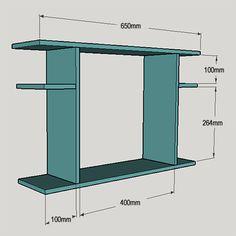 HOME DZINE Home DIY   Drop-leaf desk for home office or child's study desk