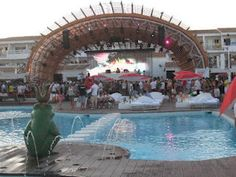 Hotel Ushuaia is a luxurious accommodation designed to perfection for comfort and fun filled break for the guests. Hotel not recommended for those under 22 years old. Only for adults. If your looking to chill out during the day and party hard at night this is the place to go to!