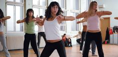 I love Zumba.  The best, most enjoyable way to stay fit!