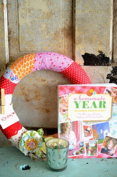 A Homemade Year turns ONE! Featuring a wreath from the book!