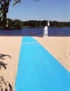 All public waterways (specifically beaches)? should have these. Wheelchair Accessibility Improved at Wright's Pond.