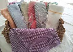 FildeMaGie - nos produits tisssés à la main Louis Vuitton Damier, Tote Bag, Pattern, Towels, Bags, Weaving, Gifts, Products, Kitchens