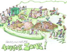 the Ithaca Children's Garden's Hands-on-Nature ANARCHY ZONE www.earthplay.net