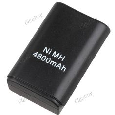 4800mAh NiMH Battery w USB Cable for Xbox360 Controller  http://www.cigabuy.com/ru/4800mah-nimh-battery-w-usb-cable-for-xbox360-controller-p-4275.html  Product Features:	 High quality battery pack & USB charging cable for Xbox 360 wireless controller 4800mAh high capacity rechargeable NiMH battery