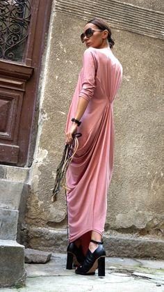 XXLXXXLMaxi Dress  Asymmetric Kaftan / Long Dress / by Aakasha