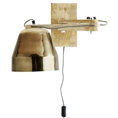 Extending Wall Lamp in Copper