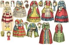 Very Old Paper Dolls