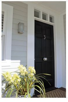 Front Doors Colors That Look Good With Grey Siding Storm Door My Home Ideas By Suzanne