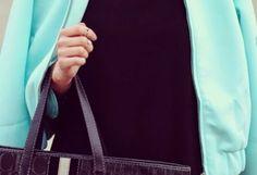 Chaqueta-Cazadora Azul Klein   Front Row Shop , Otoño-Invierno 2014. En el armario de lapetiteblonde desde el 24-3-2014 Gym Men, Outfits, Tops, Fashion, Fall Winter 2014, Riders Jacket, Jackets, Blue Nails, Moda