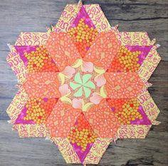 Karen's rosette from The New Hexagon