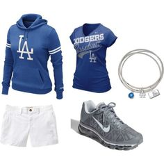 Great game-day outfit Dodgers Outfit f2bbf81b5fc