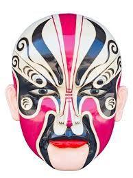chinese mask - Google Search Chinese Opera Mask, Chinese Mask, Chinese Dragon, Asian Sculptures, Dragon Mask, Chinese Element, Ceramic Mask, Masks Art, China Art
