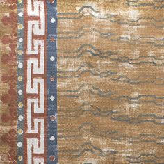 We look to Tibetan tiger carpets for Khaden, our painterly take on a historically important (and highly collectible) style of rug. Our rendi...