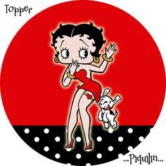 Betty Boop: Free Printable Mini Kit.