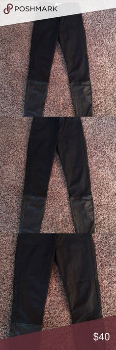 NICOLA MILLER PANTS Cotton and polyester in good condition. Pants are dry clean only. Super cute straight leg, pants look good with boots. nicola miller Pants