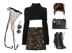 """""""💋🍂💁🏽"""" by xofashionismylovexo ❤ liked on Polyvore featuring Agent Provocateur, River Island, Maison Margiela, Giuseppe Zanotti, Christian Dior and Yves Saint Laurent"""