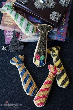 Hogwarts House tie c