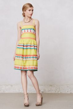 Ribboned Quilotoa Dress - Anthropologie.com