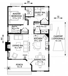 Cottage Plans On Pinterest Small Cottages Small Cottage House Plans