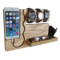Watch and eye dock iPhone 6 Plus and 6S by undulatingcontours