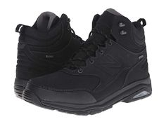 New Balance Men's Hiking Boots Black Mens Hiking Boots, Men Hiking, Air Max Sneakers, All Black Sneakers, Sneakers Nike, Walking Boots, Mens Big And Tall, Comfortable Shoes, New Balance