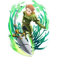Nanatsu no taizai-King (Harlequin) - Anime Thing Seven Deadly Sins Tattoo, Seven Deadly Sins Anime, 7 Deadly Sins, Otaku Anime, Manga Anime, Chibi, Harlequin Wallpaper, Super Anime, 7 Sins