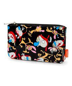 Look at this #zulilyfind! Ren & Stimpy Pencil Case by Nickelodeon #zulilyfinds