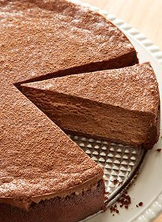 HERSHEY'S Chocolate Cheesecake Recipe