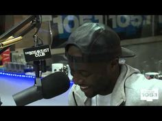 Interview With Nigel Sylvester At The Breakfast Club Power 105.1
