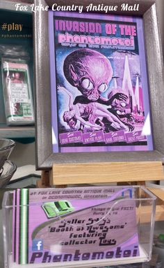 Vintage collector-grade 'play' is diabolically on display at seller 545's 'Phantomotoi' booth inside Fox Lake Country Antique Mall in Oconomowoc, Wisconsin!