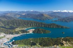 the Picton area Marlborough Sounds