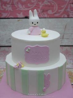 Nijntje geboorte taart