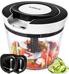 Vegetable Chopper & Vegetable Slicer - Hand-Powered Food ... https://www.amazon.com/dp/B07817TQ3X/ref=cm_sw_r_pi_awdb_t1_x_izvPAb3DSBBYN