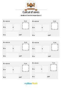 Le but de l'exercice est de connaître la formule pour calculer l'aire d'un carré. Catégorie : Longueurs, périmètres, aires Module : Calcul d'aires Application téléchargeable sur l'AppStore. Pour en savoir plus : https://www.youtube.com/watch?v=jnBPUgB48Wg