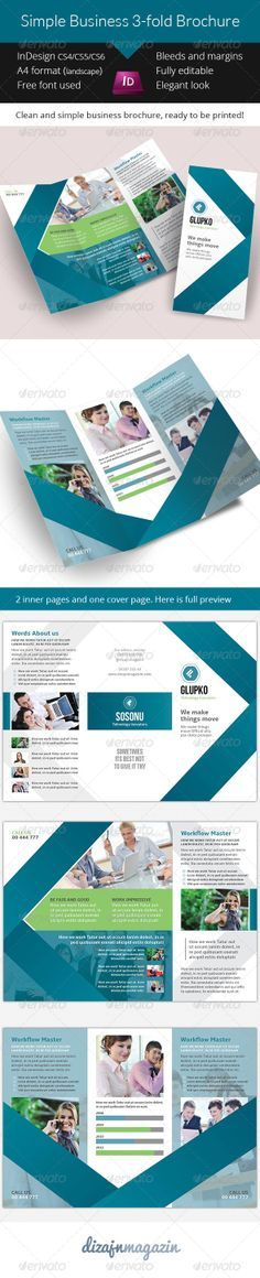 1000 ideas about 3 fold brochure on pinterest brochure for 3 fold brochure template indesign