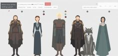 Designer Nigel Evan Dennis has created Where have all the wildlings gone?, a stylized guide to the many Game of Thrones characters and their ever-changing Game Of Thrones Wildlings, Game Of Thrones Personajes, Tv Center, Hero Games, Hbo Game Of Thrones, Mary Sue, Character Portraits, Cool Posters, Artists