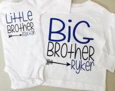 Hermano camisas gran hermano hermanito por NapTimeCreationsShop