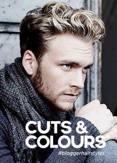 Speciaal voor de mannen met natuurlijk dik en krullend haar | Wil jij weten hoe je jouw krullen het beste kunt laten knippen? Of goed kunt verzorgen? Stap binnen bij Cuts & Colours!