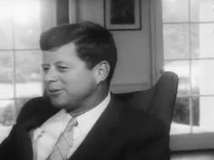 JFK in his chair