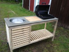 Basic Kitchen Area Concepts For Inside or Outside Kitchen areas – Outdoor Kitchen Designs Outdoor Projects, Diy Projects, Outdoor Barbeque, Summer Kitchen, Mini Kitchen, Kitchen Small, Kitchen Ideas, Outdoor Kitchen Design, Outdoor Kitchens