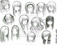 Anime ....draw hair s2