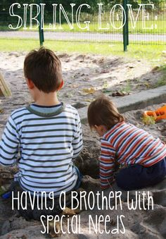 Siblings of special needs kids have a tough job from the get-go. How do we keep the peace, for the most part, between typical and special needs? Here is my list. http://blog.easystand.com/2014/08/sibling-love-having-a-brother-with-special-needs/