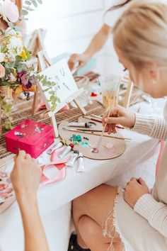 Aussie Tastemaker Emma Lane Wants Us to Connect With Nature – This Galentine's Painting Party Is The Ultimate Way to Show Love For Your Besties - Camille Styles Ways To Show Love, Host A Party, Brunch Party, Paint And Sip, Valentines Day Party, Paint Party, Holidays And Events, Favorite Holiday, Have Time