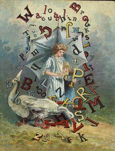 Mother Goose ABC, New York: McLoughlin Bros, 1891.