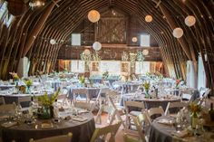 barn wedding reception decoration ideas   Inspired Wives: How to Find Your Dream Unique Wedding Venue