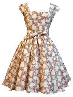 eb6d7f9452c28e Details about LADY VINTAGE SWING DRESS in 21 DIFFERENT PRINTS  50s  ROCKABILLY RETRO  SIZE 8-22. Pin Up OutfitsPin Up JurkenJaren ...