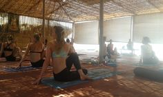Don't make any New Year's plans just yet, this trip looks fantastic #yoga - Vidados